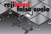Rejiband - Sistema de Bandejas de rejilla para la conducción de cableado en suelo técnicos o falsos suelos